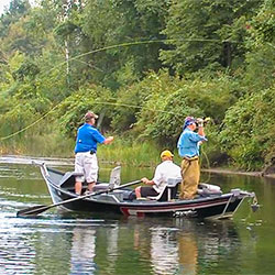 Tawas bay area fishing travel planner great getaways for Fly fishing bay area